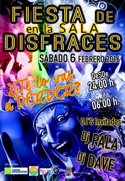 La Concejalía de Juventud organiza una Fiesta de Disfraces en LASALA para el próximo sábado de Carnaval con la colaboración de NNGG, Caudete Digital - Noticias y actualidad de Caudete (Albacete)