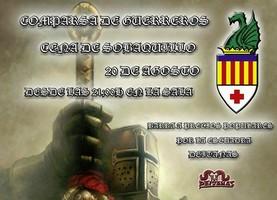 La Cena de Sobaquillo de la Comparsa de Guerreros se celebrará el próximo sábado 20 de agosto, Caudete Digital - Noticias y actualidad de Caudete (Albacete)