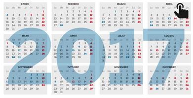 Calendario de festivos para caudete en 2017 caudete for Festivos valladolid 2017