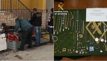 Detenidas cuatro personas en Murcia como supuestos autores de robos en Fuente Álamo, Puebla de Don Fabrique y Caudete