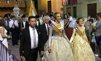 Las Falleras en las Fiestas de Caudete, Caudete Digital - Noticias y actualidad de Caudete (Albacete)