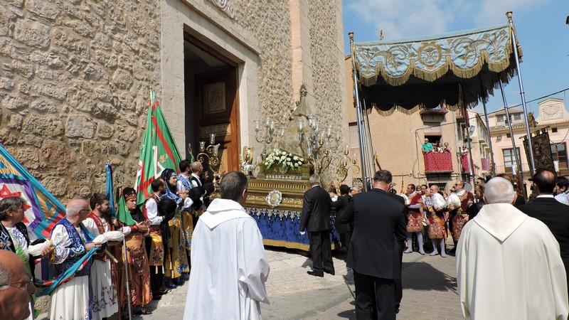La virgen de gracia ya est en la iglesia de santa catalina - Parroquia santa catalina la solana ...