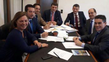 Almansa y Caudete se suben al tren del proyecto del Corredor Mediterráneo Ferroviario