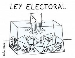 Resultado de imagen de leyelectoral