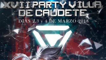 Abierta la inscripción a la XVII Party Villa de Caudete, que se celebrará del 2 al 4 de marzo