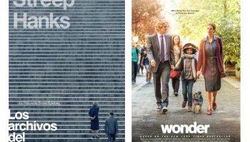 Este próximo fin de semana se van a proyectar dos películas en el Auditorio Municipal de Caudete: Los archivos del Pentágono y Wonder