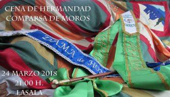 La Comparsa de Moros celebrará su Cena de Hermandad el próximo sábado 24 de marzo