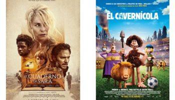 El próximo fin de semana se proyectarán dos películas en el Auditorio Municipal de Caudete: El Cuaderno de Sara y El Cavernícola