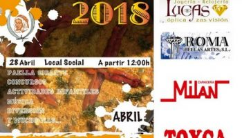 La Comparsa de Moros celebrará el Día del Socio el próximo 28 de abril