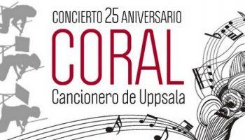La Coral de Cámara 'Cancionero de Uppsala' celebra sus 25 años con un gran concierto