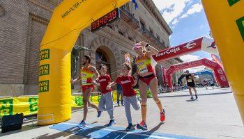 Natacha López y José David Serrano consiguen completar su Reto42Kancer: 15 maratones en un año