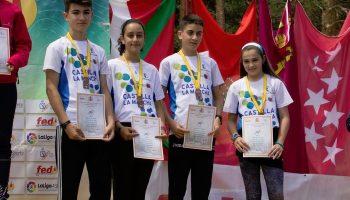 Excelentes resultados para los participantes caudetanos en el Campeonato de España de Orientación a Pie
