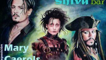 Mari Carmen Conejero Caerols expone sus retratos en Shiva Bar