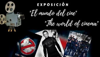 El viernes se inaugura una exposición titulada 'El Mundo del Cine'
