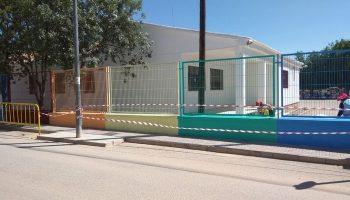 El Ayuntamiento de Caudete acomete obras de mantenimiento y mejora en el Colegio Alcázar y Serrano