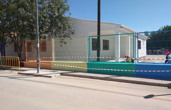 El Ayuntamiento de Caudete acomete obras de mantenimiento y mejora en el Colegio Alcázar y Serrano, Caudete Digital - Noticias y actualidad de Caudete (Albacete)