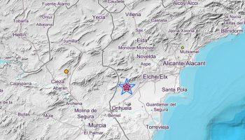 Un fuerte terremoto en Albatera se siente en Caudete y numerosas poblaciones del sureste