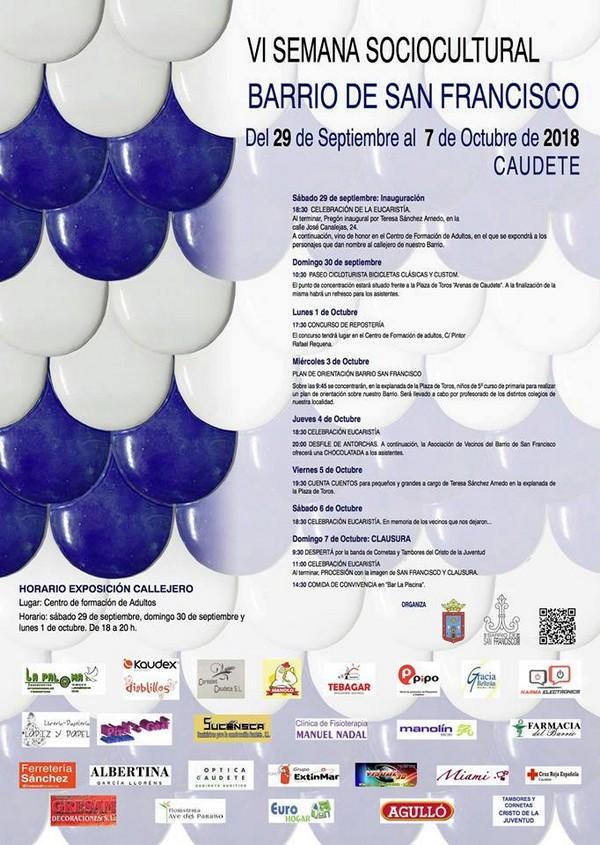 VI Semana Sociocultural del Barrio San Francisco de Caudete, Caudete Digital - Noticias y actualidad de Caudete (Albacete)