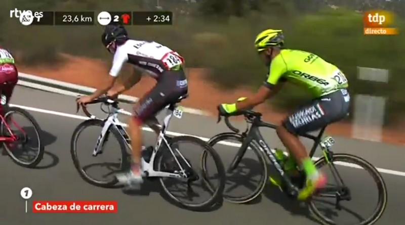 Un combativo Héctor Sáez vuelve a protagonizar la escapada del día en la Vuelta a España, Caudete Digital - Noticias y actualidad de Caudete (Albacete)