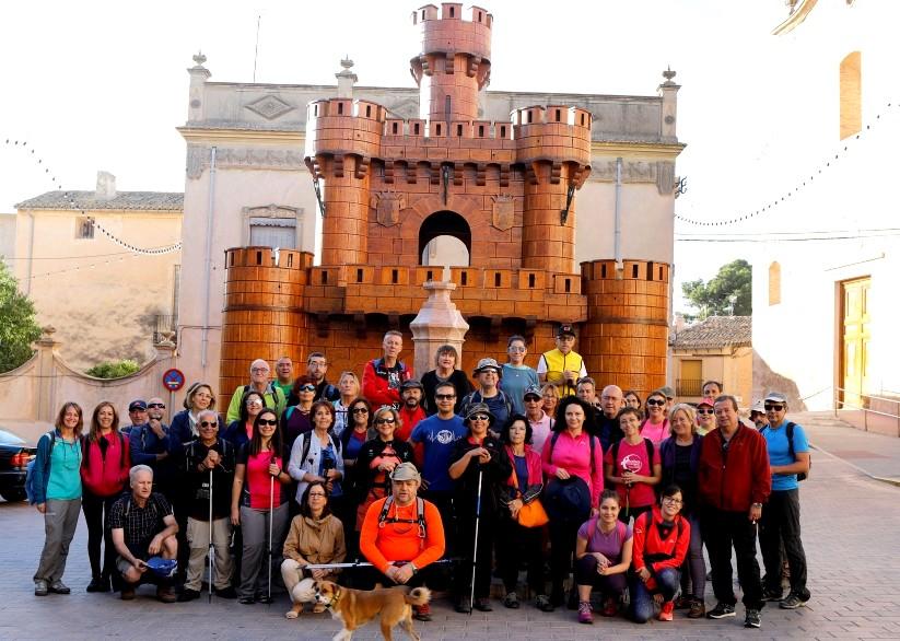 El pasado domingo tuvo lugar en Caudete la ruta de senderismo organizada por la Diputación, Caudete Digital - Noticias y actualidad de Caudete (Albacete)