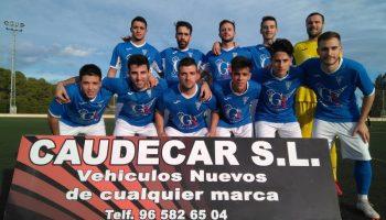 Trabajada y sufrida victoria del C.D. Caudetano por 5 - 4 ante el Valdeganga