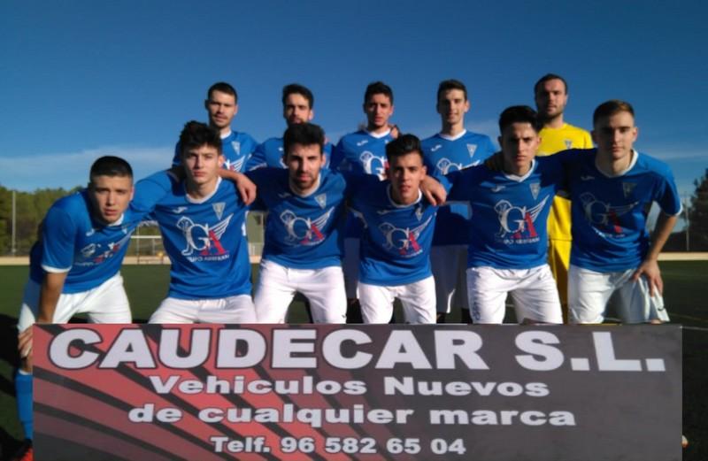 Brillante victoria del C.D. Caudetano ante el Sporting de Alcázar por 3 – 0, y el Juvenil gana también por 4 – 2 al Al-Basit B, Caudete Digital - Noticias y actualidad de Caudete (Albacete)