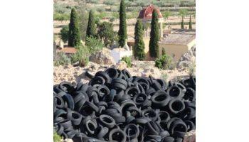 El Partido Popular denuncia la pasividad de la Junta con el vertedero ilegal de neumáticos de Caudete