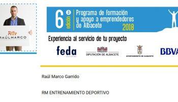 El caudetano Raúl Marco participa en el Programa Sherpa (Formación y Apoyo a Emprendedores de Albacete)