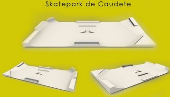 Se amplía la oferta deportiva en Caudete con la construcción de pistas de skateboard, roller y BMX