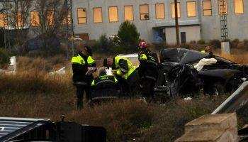 La mujer de Jumilla herida en el accidente de la carretera de Yecla - Caudete falleció horas después