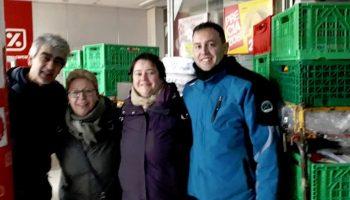 Caudete Se Mueve necesita palets de formato europeo y plástico de burbujas para el envío de alimentos a Grecia