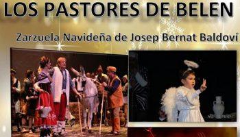 Los días 27 y 28 de diciembre se representará en el Auditorio Municipal la zarzuela navideña 'Los Pastores de Belén'