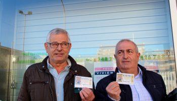 Hasta Caudete llegan casi 14 millones de euros del segundo premio de la Lotería de Navidad