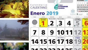 La Asociación Amigos de Alzheimer de Caudete publica el Calendario Caudetano 2019