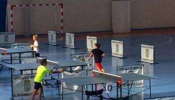 Caudete acogerá la segunda jornada del Campeonato Provincial de Tenis de Mesa en Edad Escolar