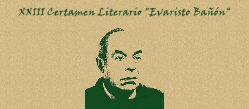 Convocado el XXIII Certamen Literario 'Evaristo Bañón', Caudete Digital - Noticias y actualidad de Caudete (Albacete)