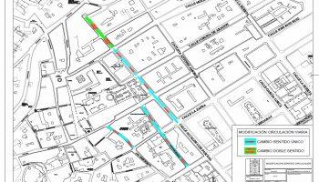 Tras las propuestas de la Policía Local, se modifica la reciente reordenación de la circulación del tráfico en Caudete