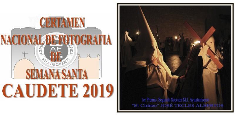 Convocados el IV Certamen Nacional de Fotografía de Semana Santa y el XV Certamen Fotográfico de la Semana Santa de Caudete