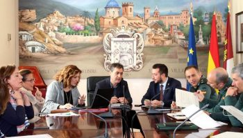 Ayer se celebró en Caudete la Junta Local de Seguridad, presidida por el Subdelegado del Gobierno