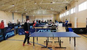 Durante esta semana se celebran las Jornadas de Fomento y Captación al Patinaje Artístico y Tenis de Mesa