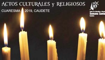 Hoy, Miércoles de Ceniza, comienzan en Caudete los actos culturales-religiosos de la Cuaresma 2019