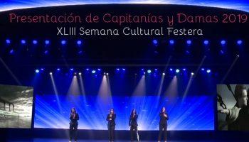Mañana se presentan en Caudete las Capitanías y Damas de las Comparsas para las Fiestas 2019