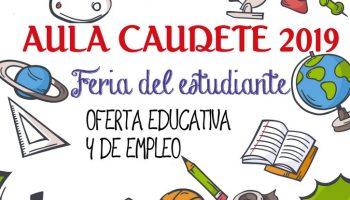 La Sala acogerá 'Aula Caudete 2019', una iniciativa para dar a conocer la oferta educativa de la comarca y fomentar el empleo