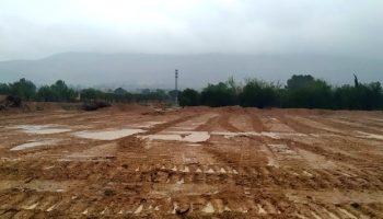Desde Jueves Santo han caido 136 litros de lluvia en Caudete, pero a partir de hoy remiten las precipitaciones