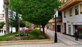 Se han plantado y repuesto nuevos árboles, arbustos y flores en las zonas verdes de Caudete
