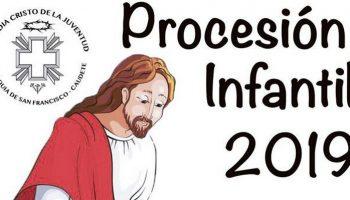 Organizan una Procesión Infantil con motivo de la Semana Santa