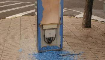 Continúan los actos vandálicos en Caudete