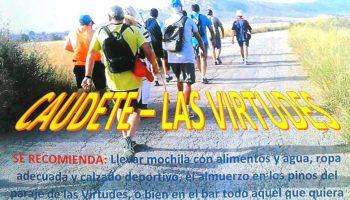 Los Andarines organizan una marcha a pie a Las Virtudes
