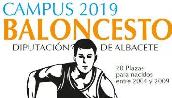 Hasta 70 plazas disponibles para participar en el Campus de Baloncesto 2019