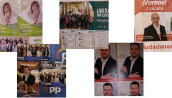 Anoche comenzó la campaña electoral para las municipales del 26M